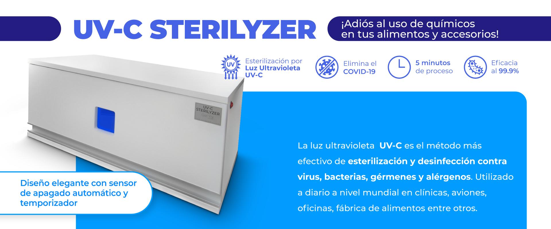UV-C STERILYZER - GetYa!